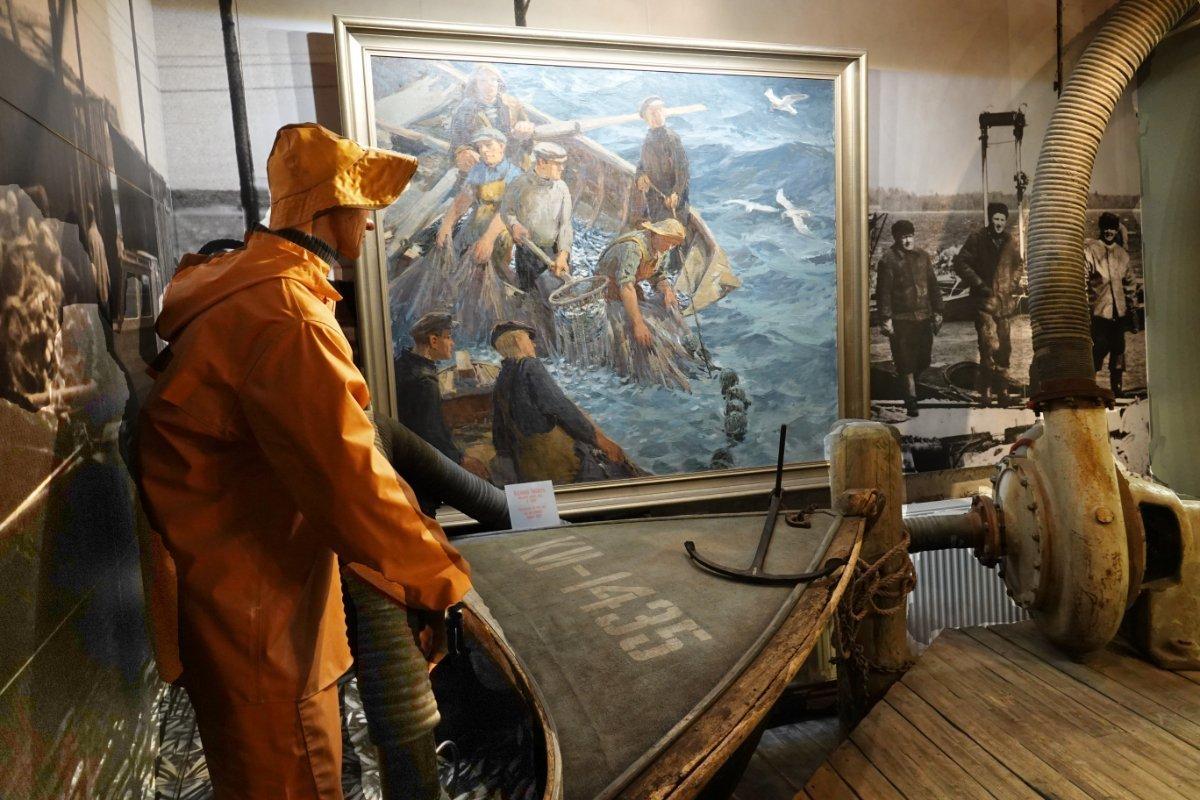 Darstellung der Fischereigeschichte Estlands