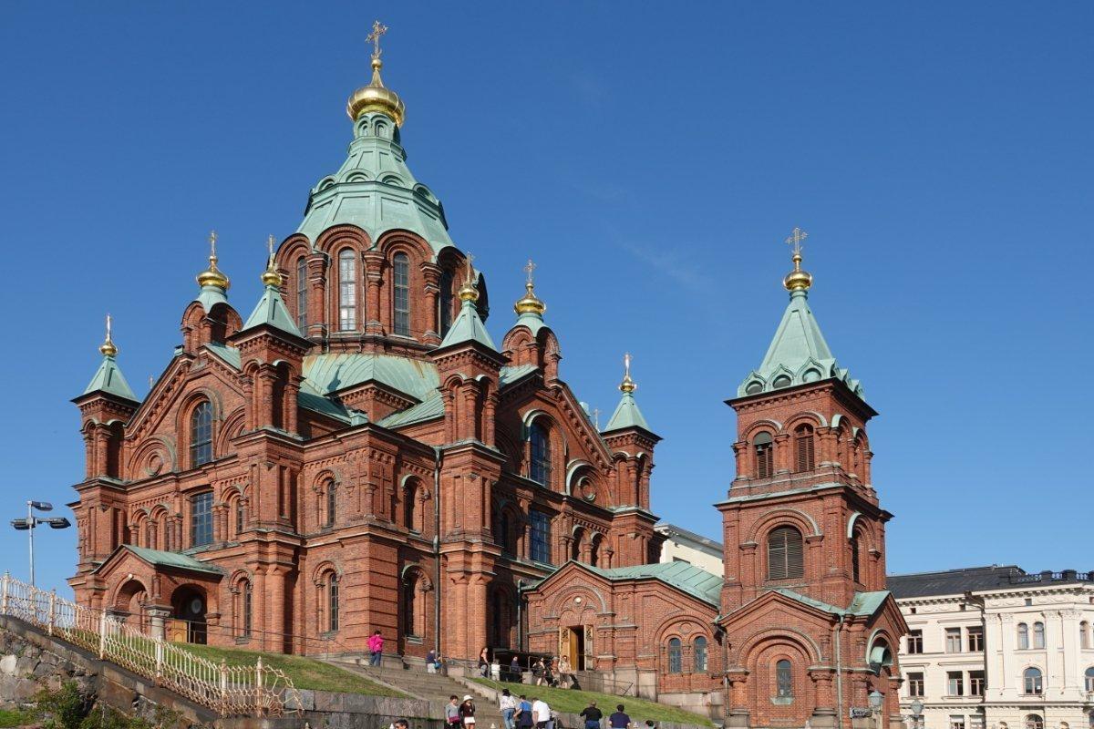 Die prächtige Orthodoxe Kirche