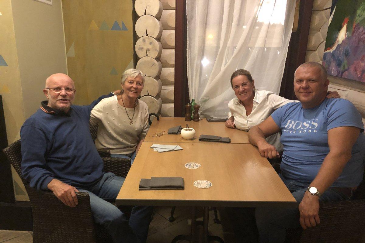 Ein toller Abend mit Inga und Ivars