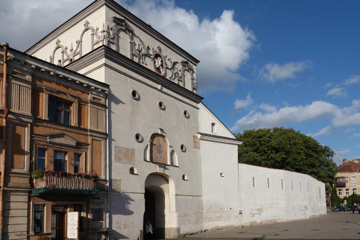 Einzig erhaltenes Stadttor und Teil der alten Stadtmauer