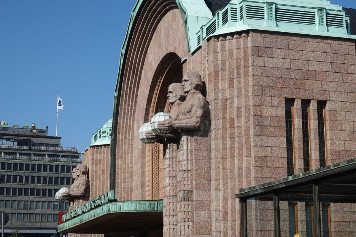 Fassade des Hauptbahnhofs