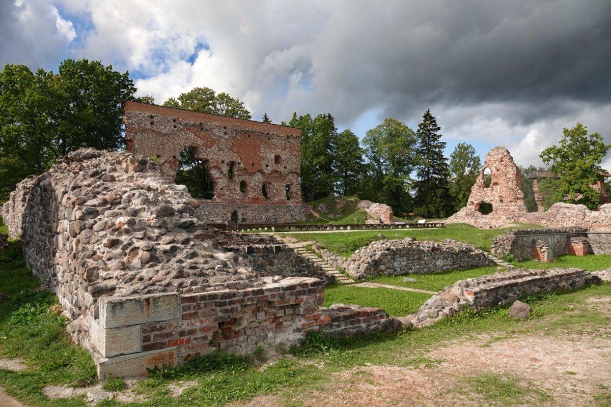 Freilichtbühne in der Viljandi Burg