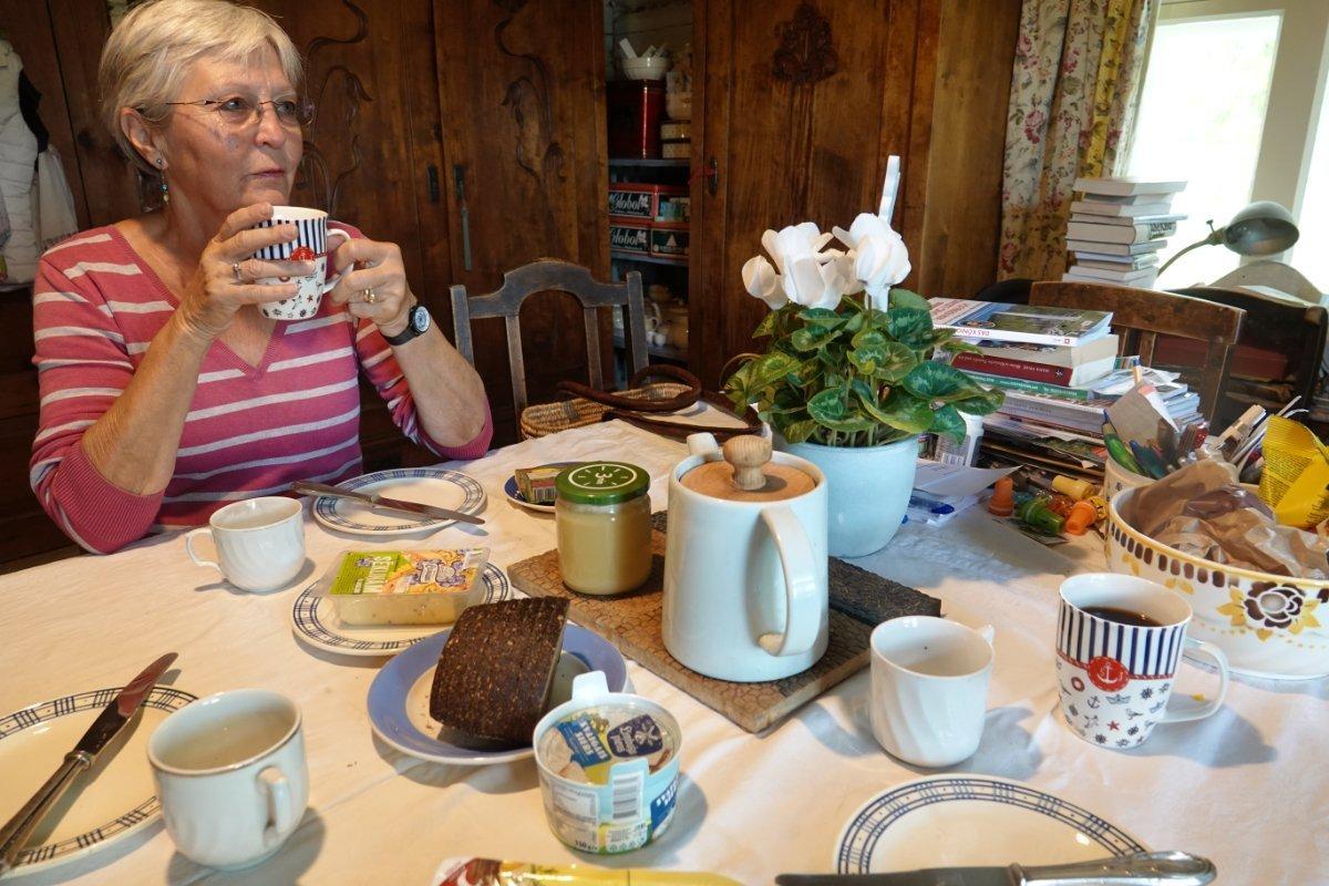 Frühstück bei Ute