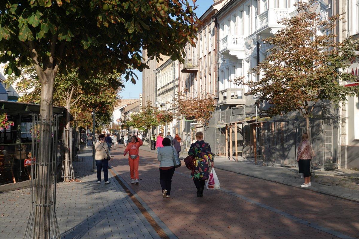 Fußgängerzone in Daugavpils
