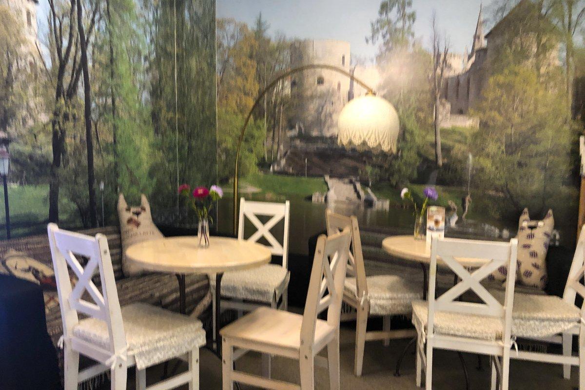 Uriges, gemütliches Café