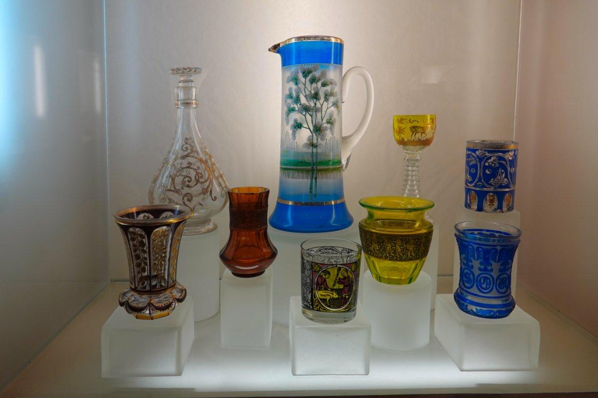 Glaskunstausstellung in der Burg