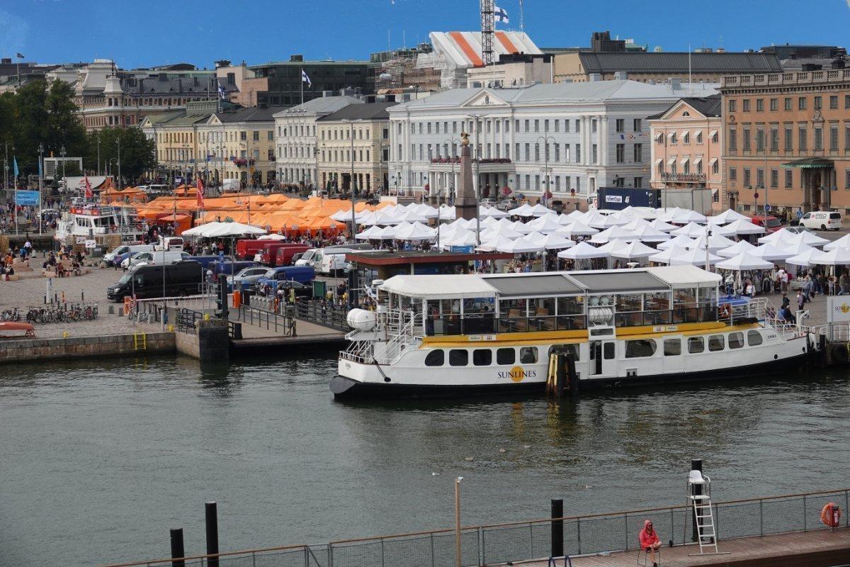 Helsinki Markt am Südhafen