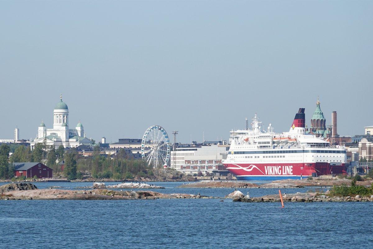 Helsinki Südhafen.