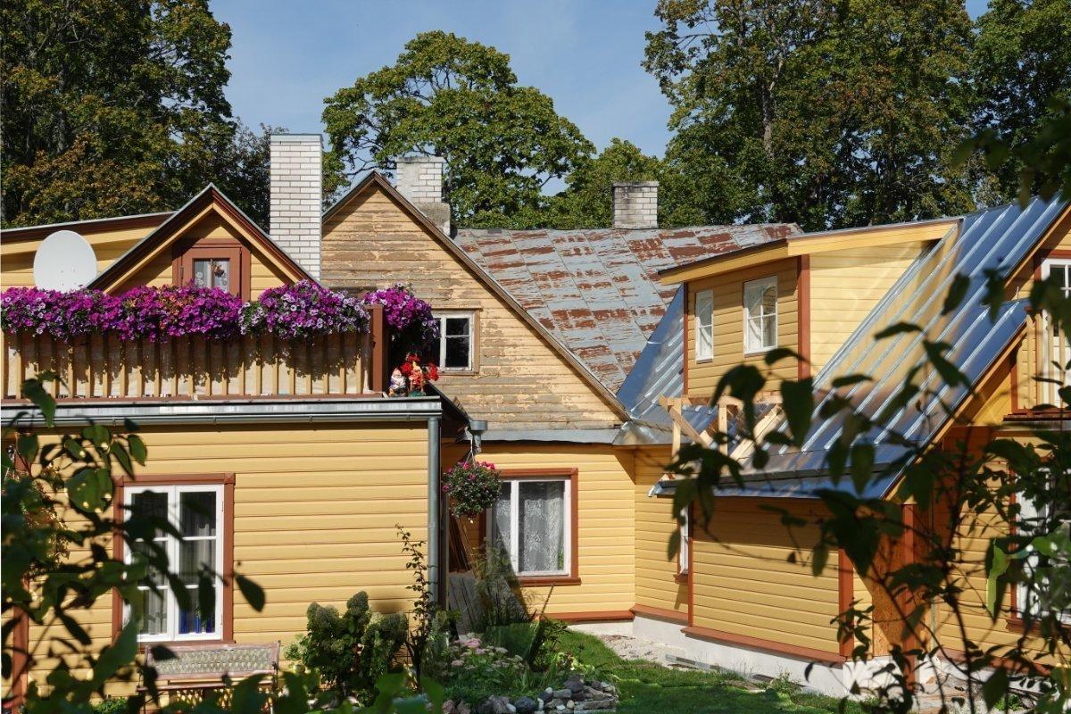 Holzhaus wird renoviert