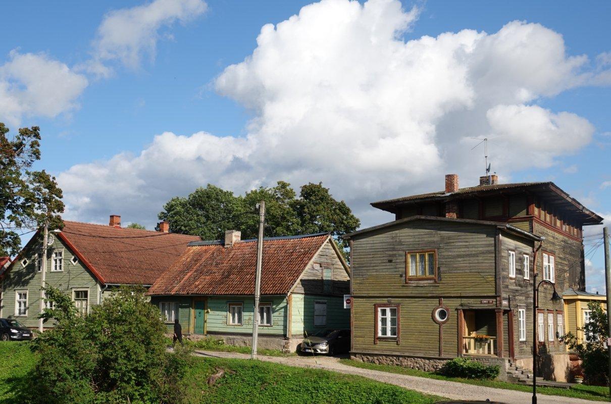 Holzhäuser der Altstadt