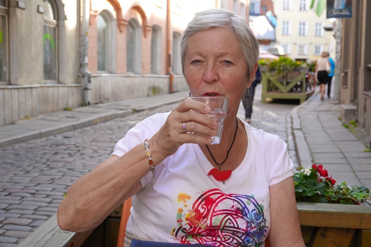 Kleine Pause in der Altstadt
