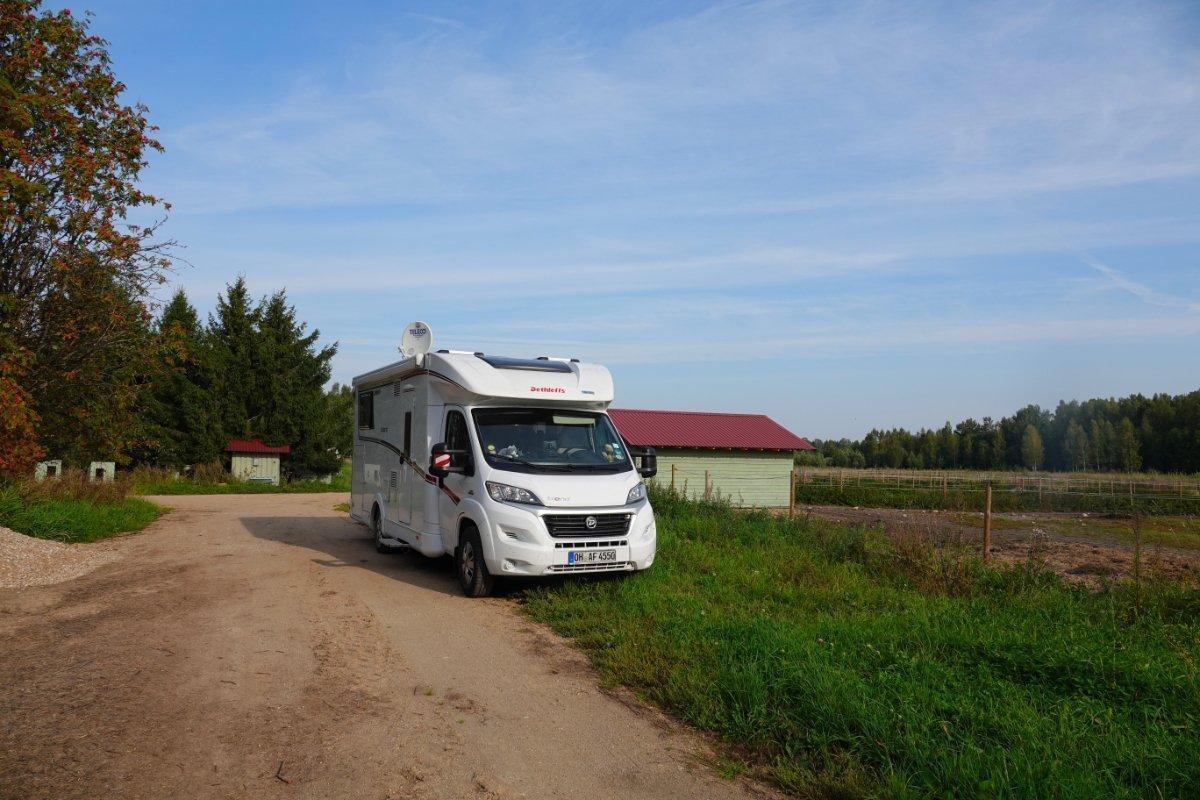 Mit unserem Wohnmobil auf Utes Hof