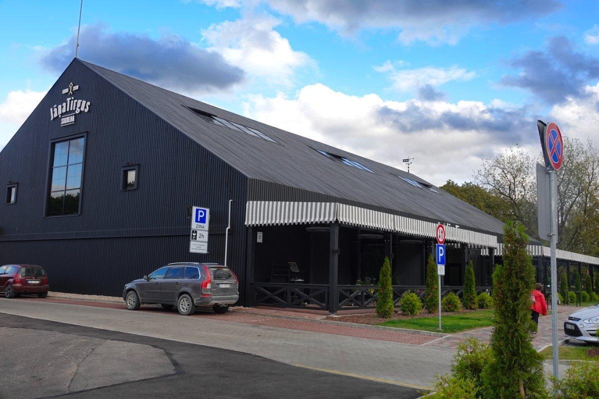 Moderne Markthalle in Sigulda