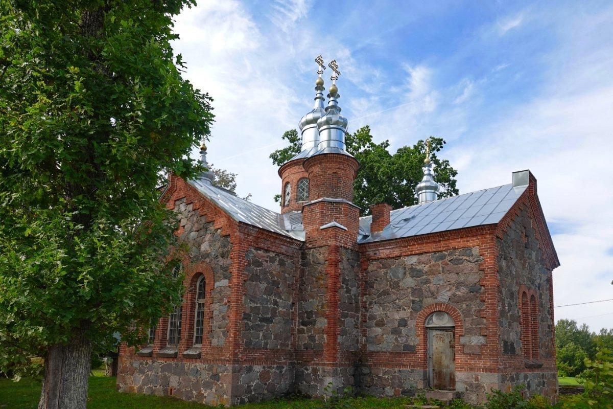 Orthodoxe Kirche ganz in der Nähe