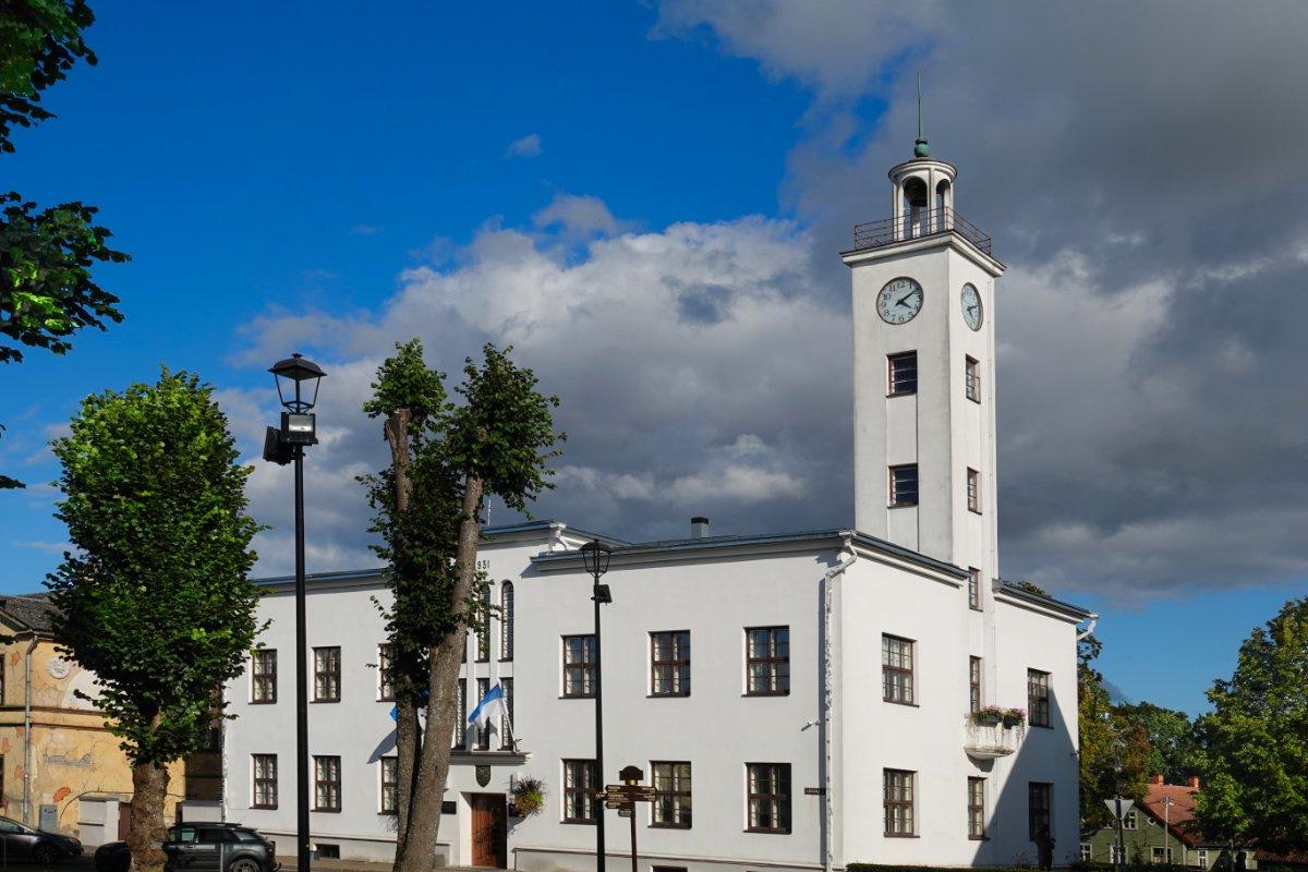 Viljandi Rathaus