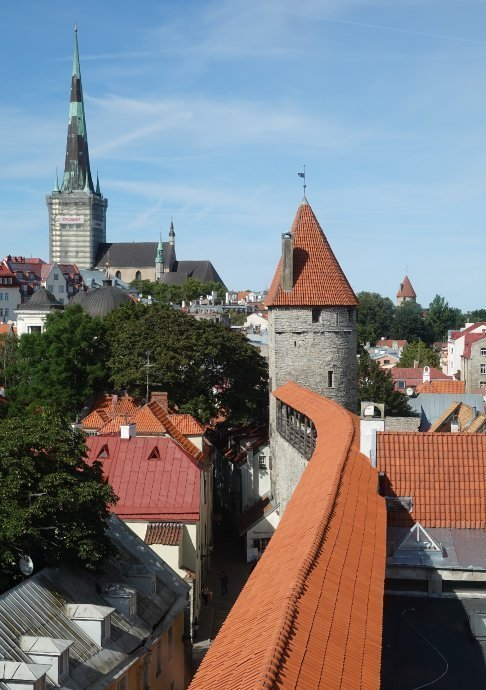Reste der alten Stadtmauert