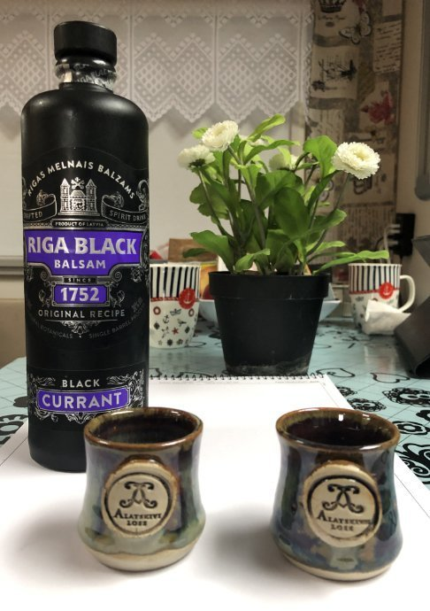 Riga Black Balsam Likör - Geschenk von Inga und Ivars