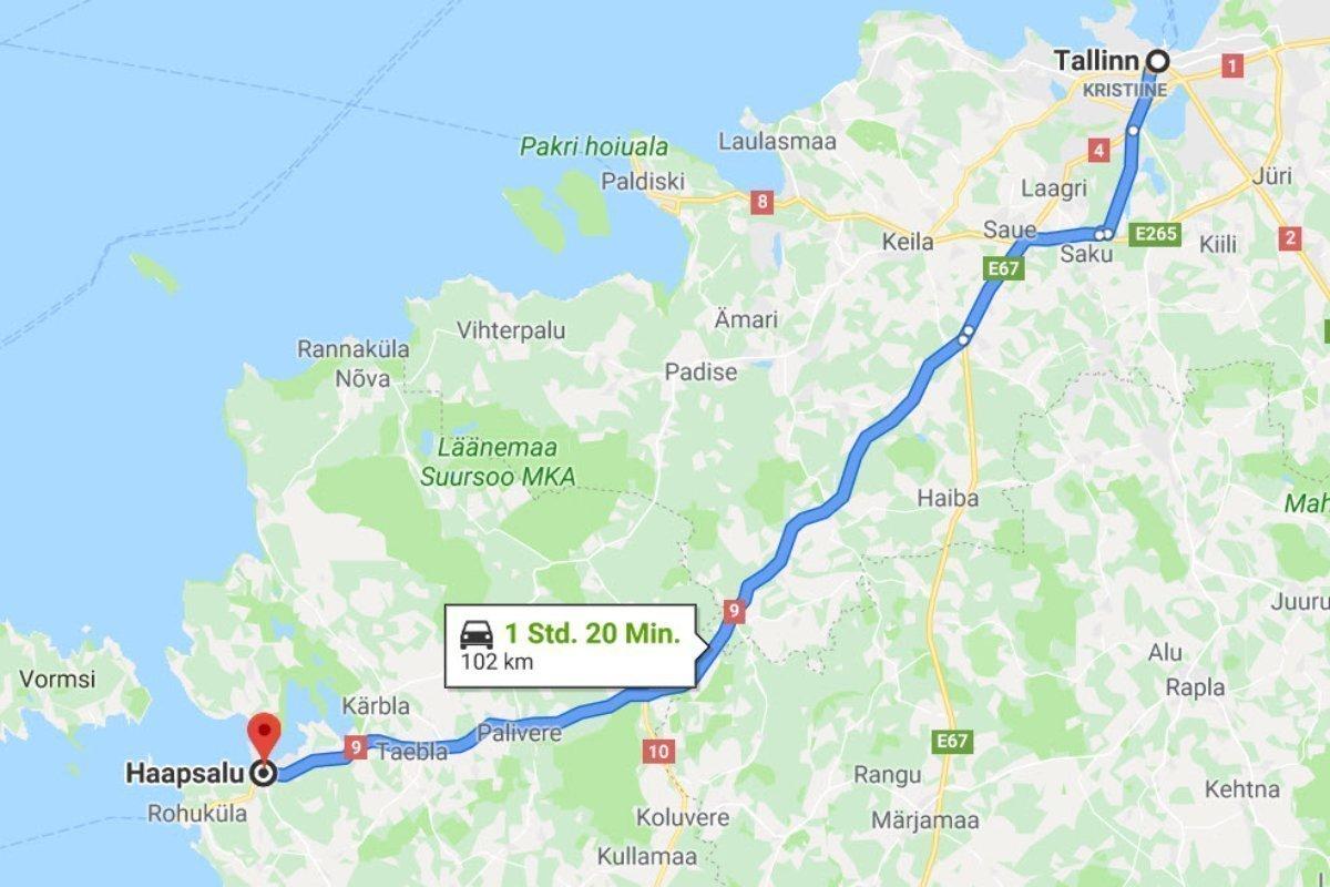 Tallinn - Haapsalu
