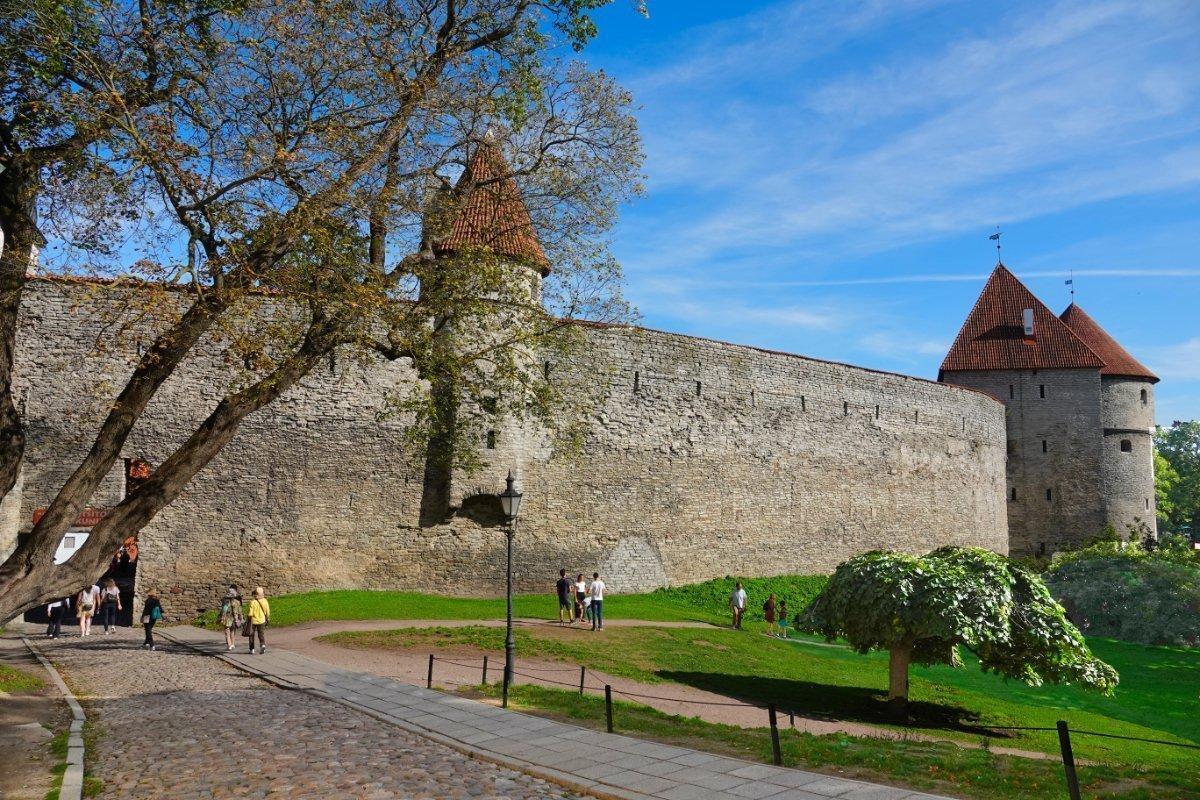 Alte Stadtmauer in der Oberstadt