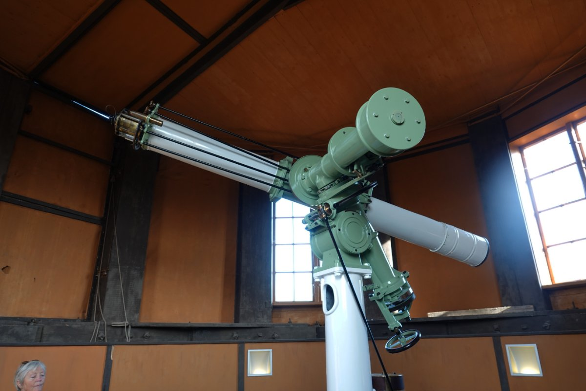 Teleskop in der Sternwarte