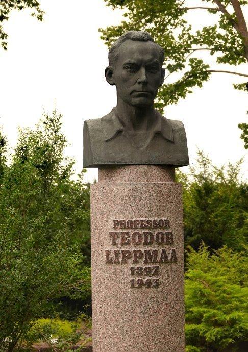 Büste Teodor Lippaas