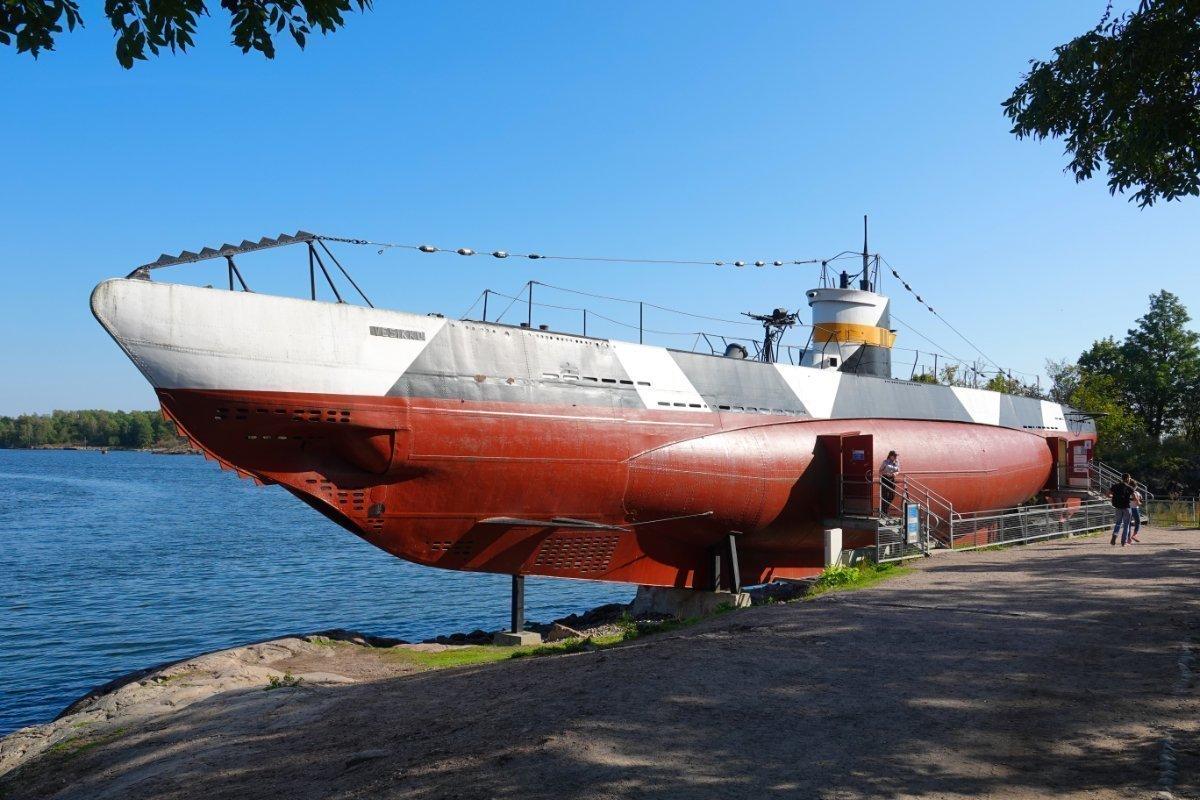 U-Boot Vesikko als Museumsschiff