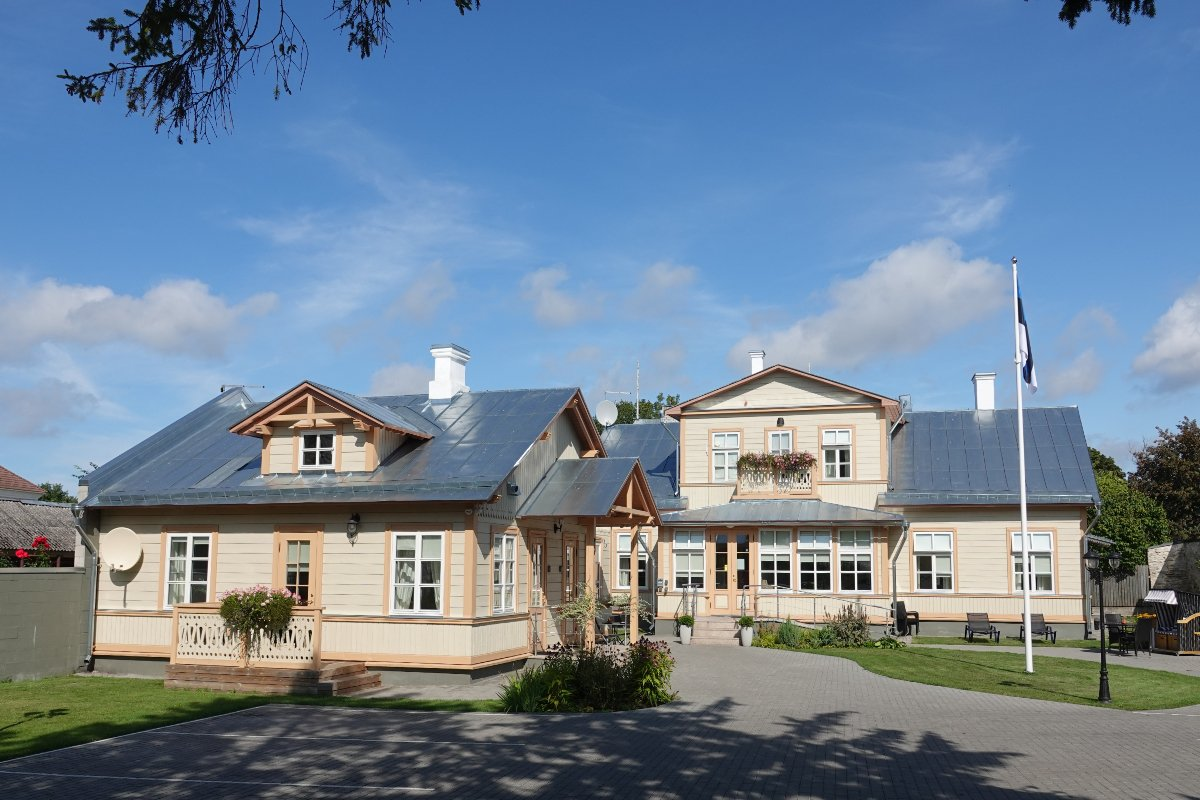 Villa Frieda, Pension im traditionellen Stil