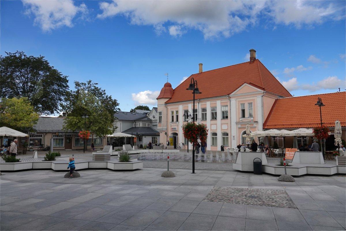 Zentraler Marktplatz in Kuressaare