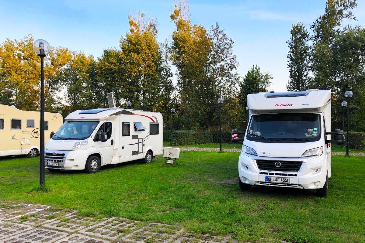 "Camping Platz ""Tramp"" in Torun"