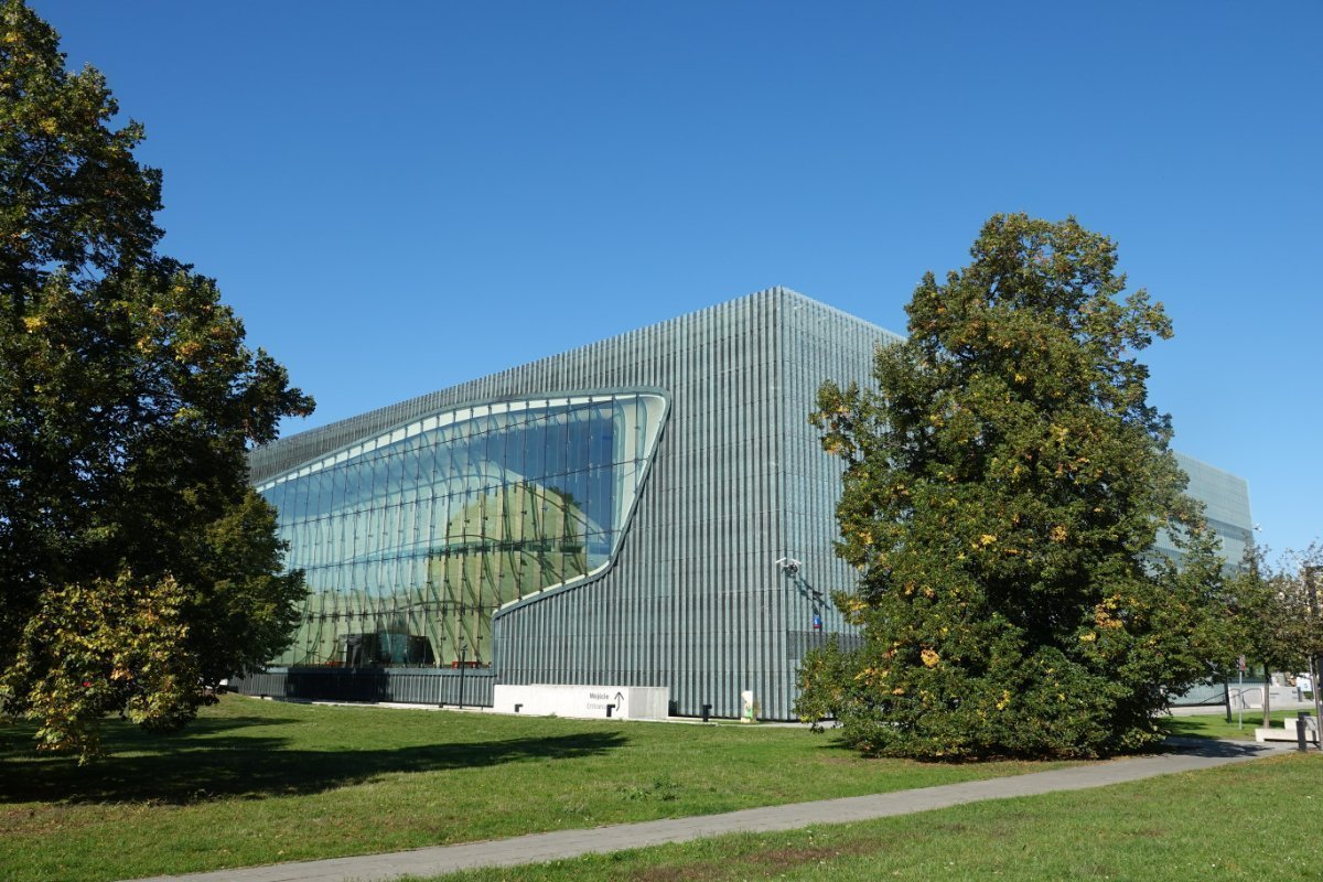 "Das ""Polin"" Museumsgebäude"