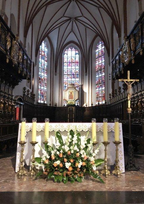 Innenraum der Johanniskirche