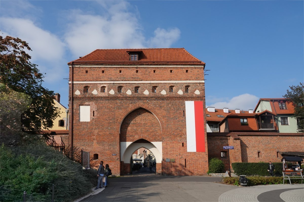 Klostertor des Heiligen Geistes oder Maiden Tor