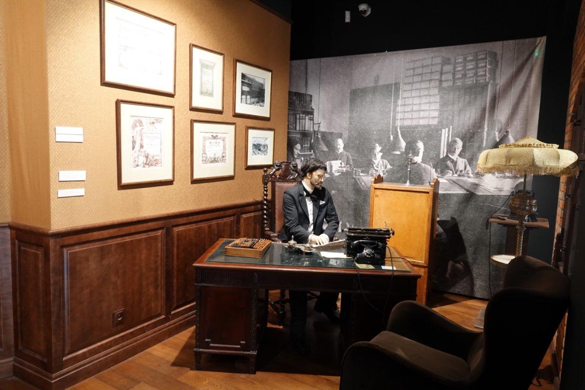 Kontor im Pfefferkuchen-Museum