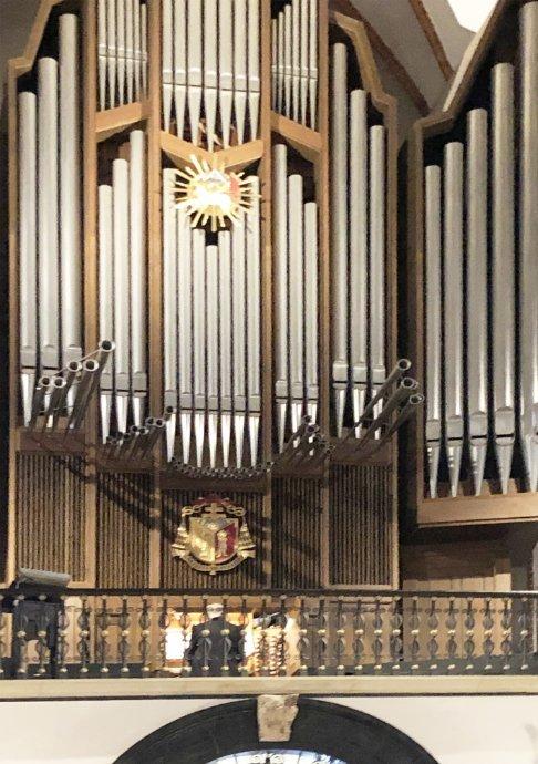Orgel der Johanniskirche