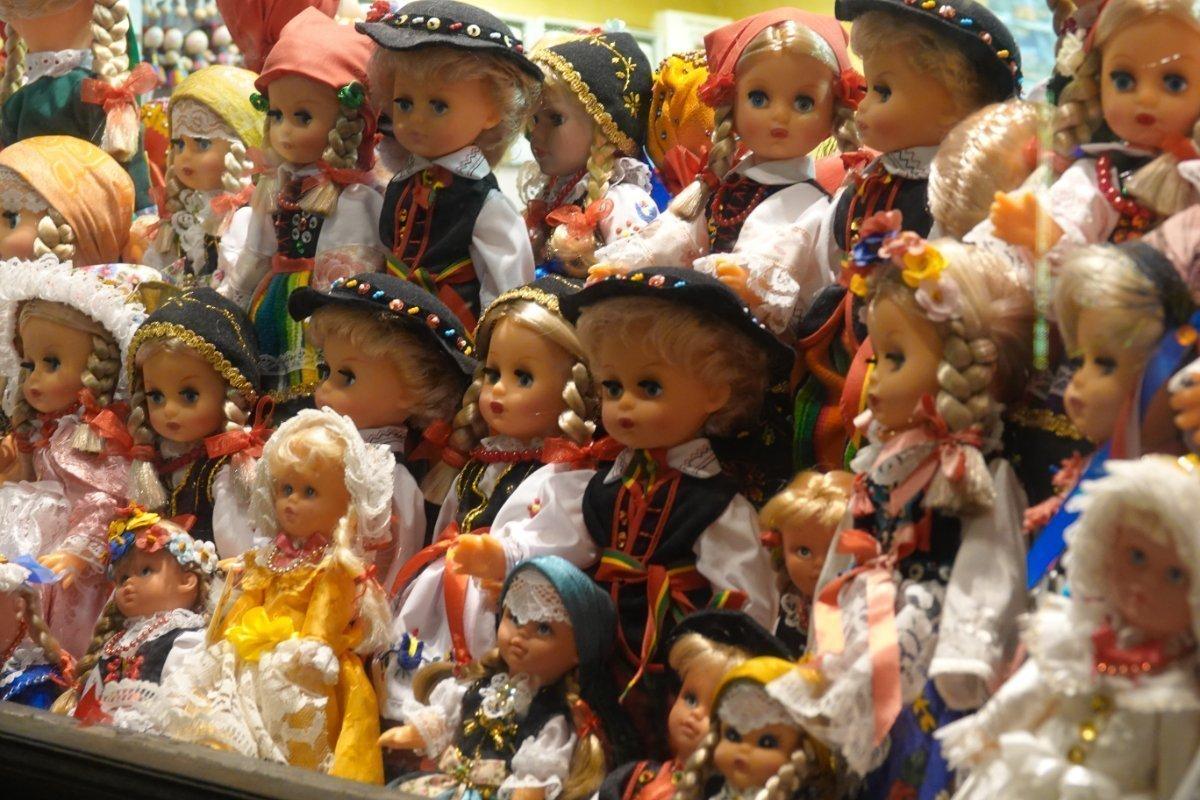 Puppengeschäft in der Altstadt