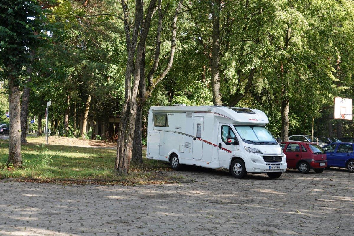 Stellplatz Augustow