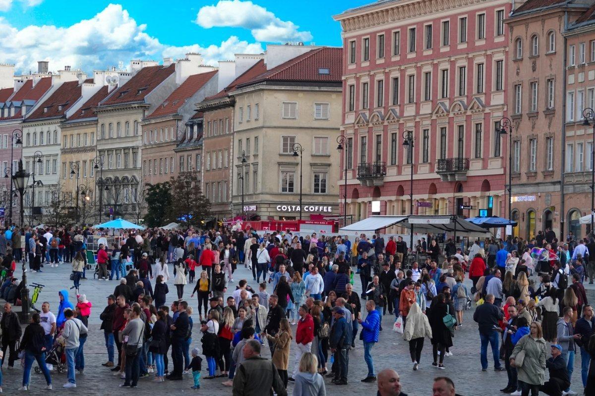 Touristengewimmel im der Altstadt