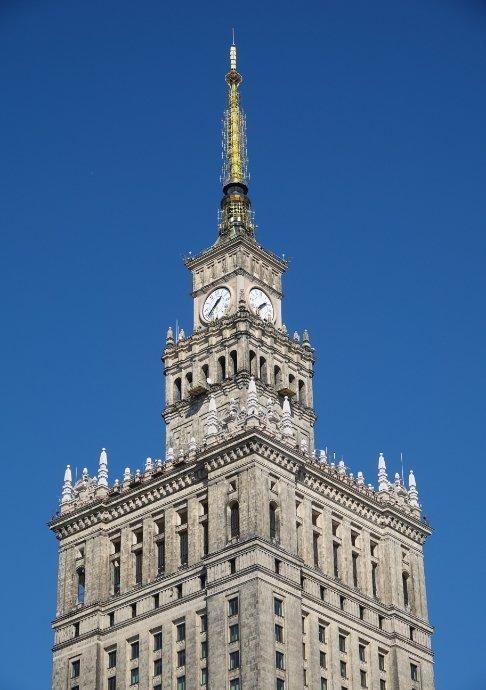 Turmspitze des Kulturpalastes