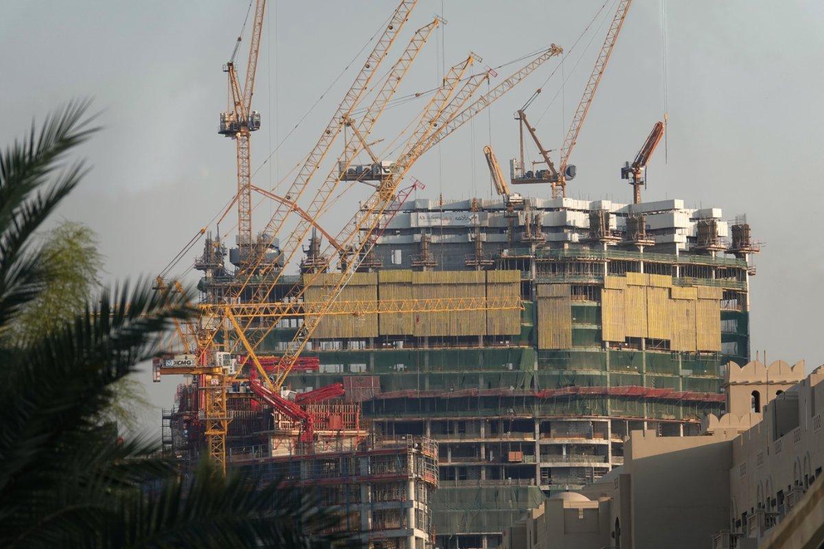 Erste Eindrücke: Überall riesige Baustellen