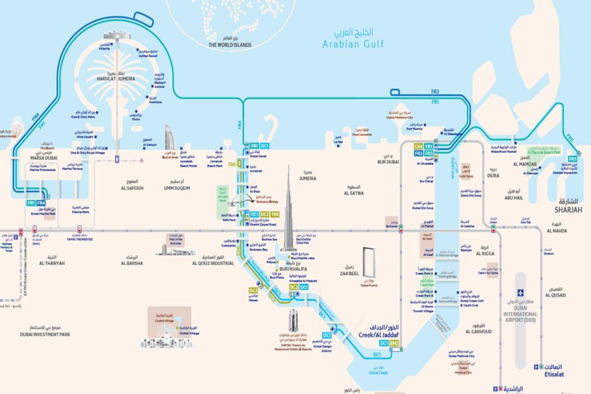 Dubai RTA Boottouren