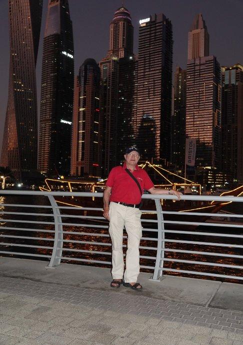 Frederick an der Dubai Marina