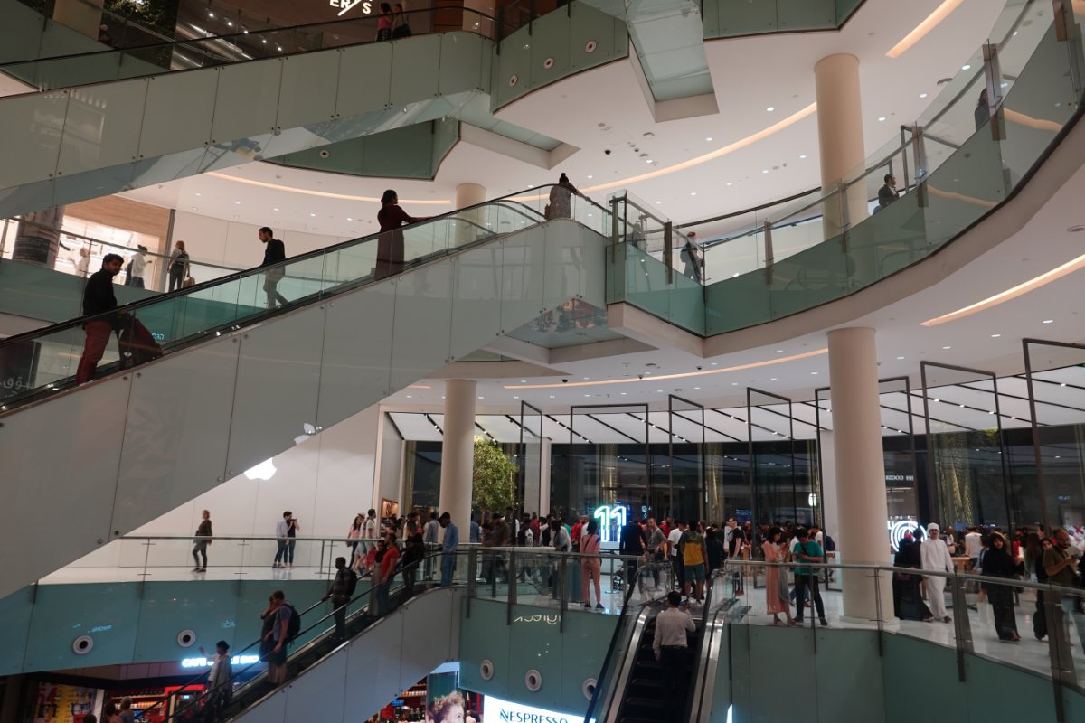 Alles riesig - Mall of the Emirates