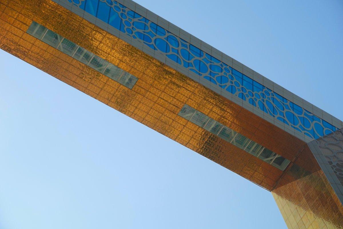 Oberer Teil des Frames in 150 m Höhe