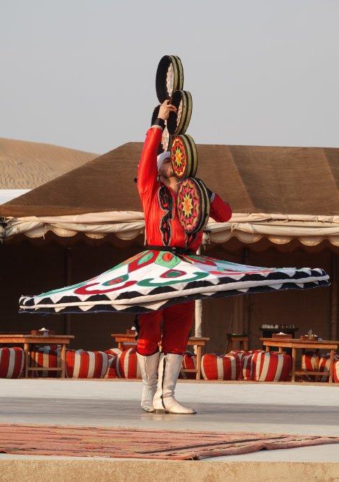 Tanzender Derwisch - Klick auf das Foto