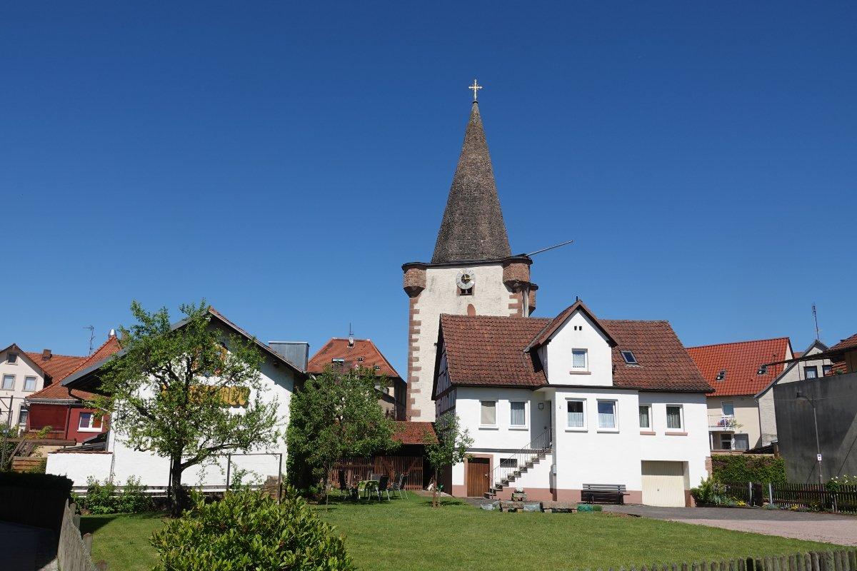Die Kirche in Schöllkrippen