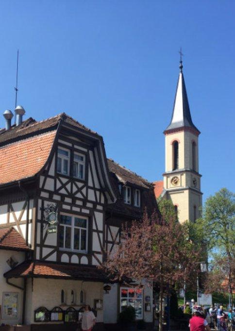 Kirche im Bad Dürrheim