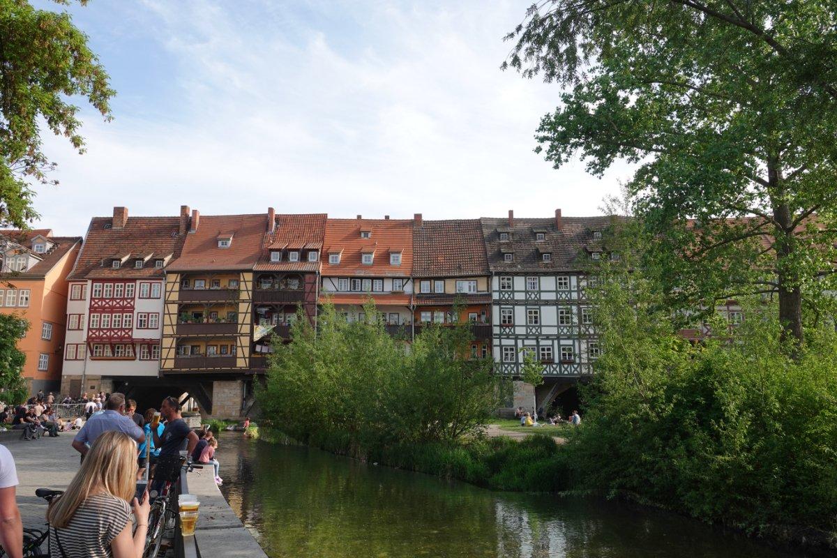 Krämer Brücke in Erfurt
