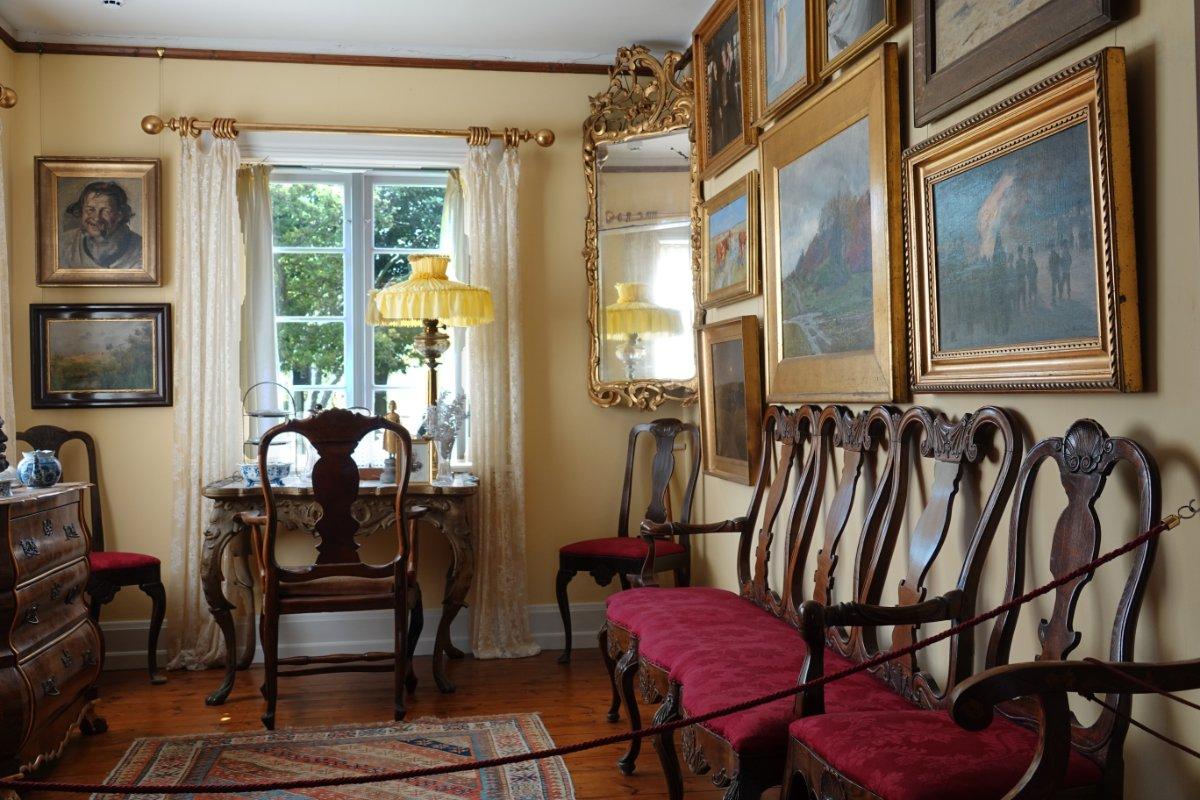 Arbeitszimmer im Ancher Haus