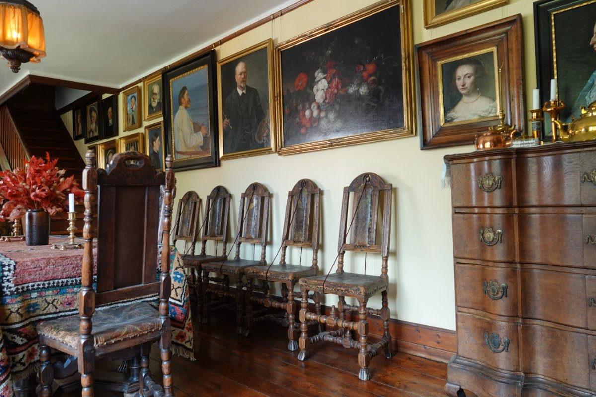 Esszimmer im Ancher Haus