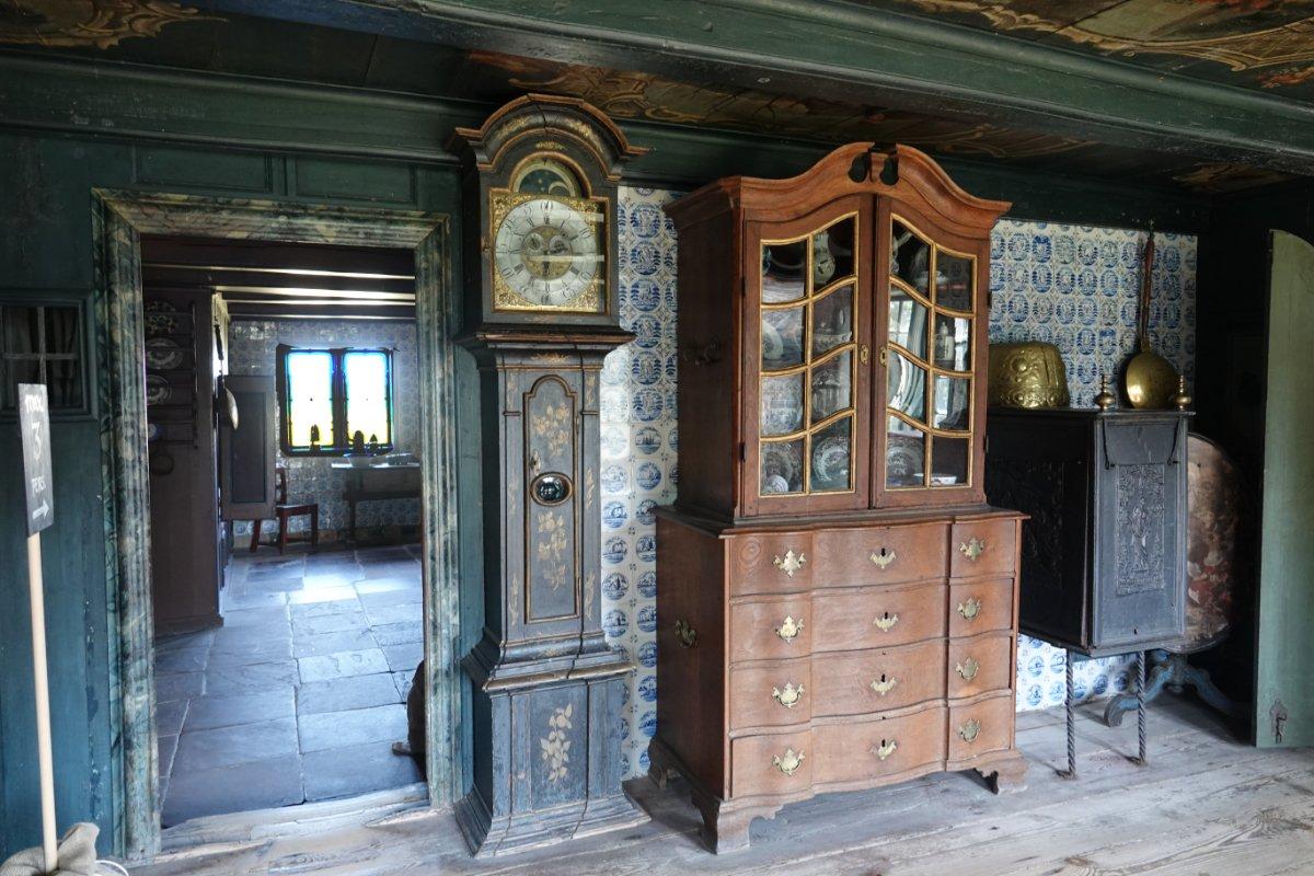 Küche und Esszimmer im Museum